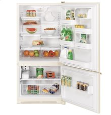 GE® ENERGY STAR® 21.9 Cu. Ft. Bottom-Freezer Refrigerator