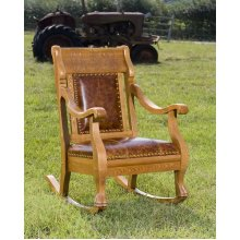 Deer Country Rocking Chair