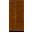 """42"""" Built-In Side-by-Side Refrigerator Product Image"""