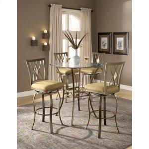 Hillsdale FurnitureBrookside 3pc Bistro Set W/ Diamond Barstools