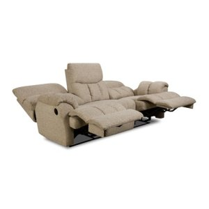 SOUTHERN MOTION 81331PRS Re-Fueler Savy Latte Power Double Reclining Sofa