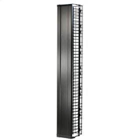 "MM20 Vertical Manager with Door, 6.5""W x 10.25""D for 7' MM20 racks"