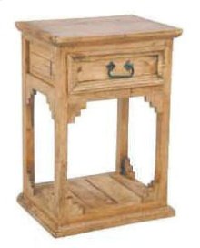 1 Drawer Open Bottom Night Stand