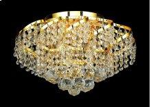 ECA1 Belenus Collection Flush Mount Gold Finish
