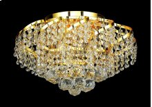 ECA1 Belenus Collection Flush Mount Gold Finish