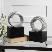 Twist Bookends, S/2