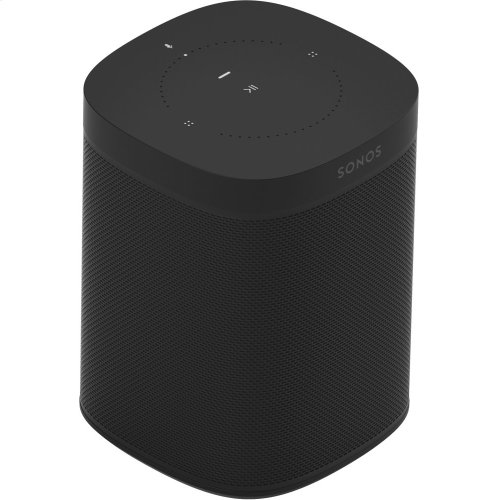 Black- A trio of powerful smart speakers for rich sound in up to three rooms.