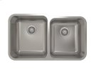 """Stainless steel kitchen sink With rounded corners [2""""] Product Image"""