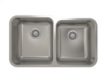 """Stainless steel kitchen sink With rounded corners [2""""]"""