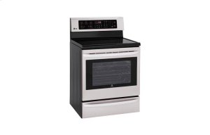6.3 cu. ft. Capacity Single Oven Electric Range with Infrared Grill and EasyClean®