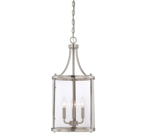 Penrose 3 Light Small Foyer Lantern