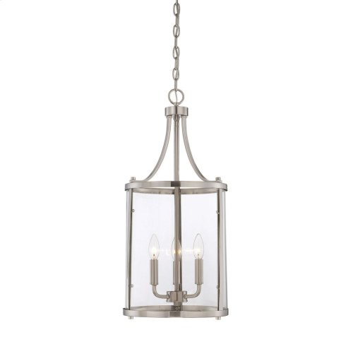 Penrose 3 Light Small Foyer Lantern