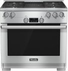 HR 1135 G 36 inch range All Gas with DirectSelect, Twin convection fans and M Pro dual stacked burners Product Image