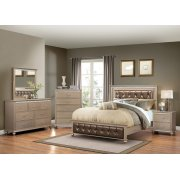 3PC Queen Bed, Dresser/Mirror Product Image