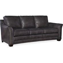 Bradington Young Carroll Stationary Sofa 8-Way Hand Tie 643-95