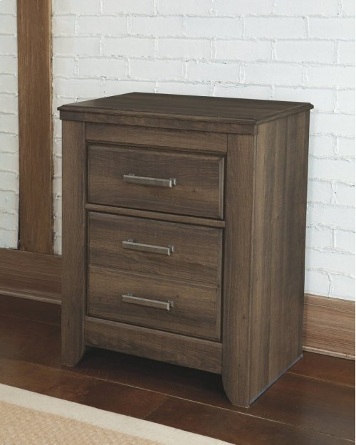RED HOT BUY- BE HAPPY ! Two Drawer Night Stand