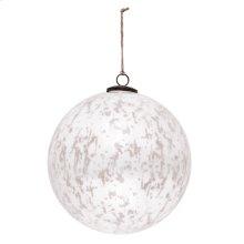 "10"" Classic White Ball Ornament"
