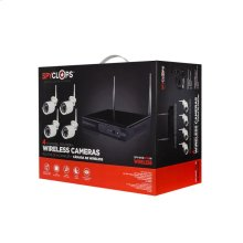 Four Channel Router and Wireless Camera Kit