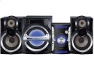 Aggressive Styling with deep bass sound, MP3 playback via USB Port and 3-Way Speaker design Product Image