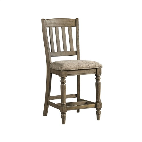 Dining - Balboa Park Stool Slat Back w/Cushion Seat
