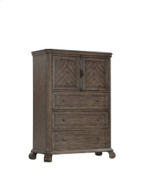 Emerald Home B553-05 Knoll Hill Dresser, Walnut Brown