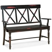 Roanoke X-Back Arm Bench Product Image