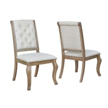Glen Cove Traditional Cream Dining Chair