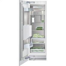 "Vario freezer 400 series RF 463 701 fully integrated Niche width 24"" (61 cm), Niche height 84"" (213.4 cm) Left-hinged"