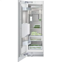 "Vario freezer 400 series RF 463 701 fully integrated Niche width 24"" (61 cm), Niche height 84"" (213.4 cm) Left-hinged"