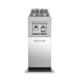 "Viking30""D. Double Side Burner Base - VBBO Outdoor Stainless Steel Cabinets"