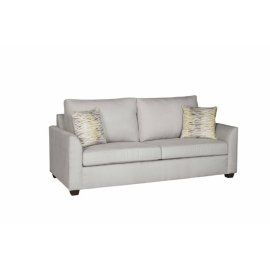 Sofa - Gray Suede Finish