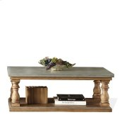 Sherborne Concrete Table Top 115 lbs Natural Concrete/Toasted Pecan finish