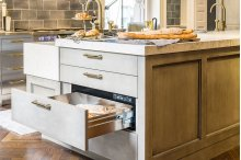 """Heritage 27"""" Integrated Warming Drawer, Panel-Ready"""