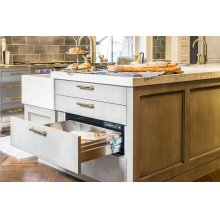 "Heritage 27"" Integrated Warming Drawer, Panel-Ready"
