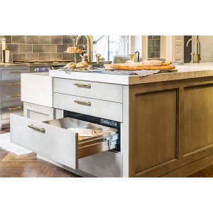 "DacorHeritage 27"" Integrated Warming Drawer, Panel-Ready"