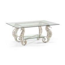 Seahorse Coffee Table Silver