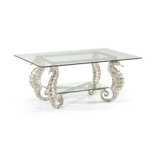 Seahorse Coffee Table Silver