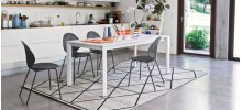 Rug inspired by classic Gabbeh