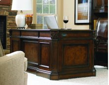 "European Renaissance II 73"" Executive Desk"