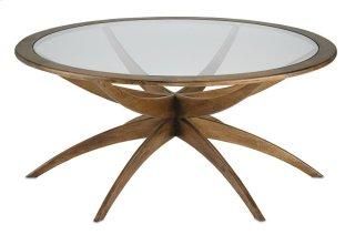 Ellen Coffee Table - 18.5h x 42dia.