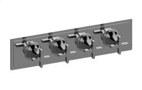 M-Series Valve Horizontal Trim with Four Handles