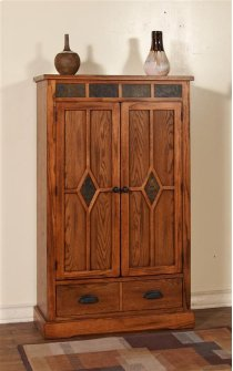 Sedona 3 Shelves Pantry W/ 2 Drawers Product Image