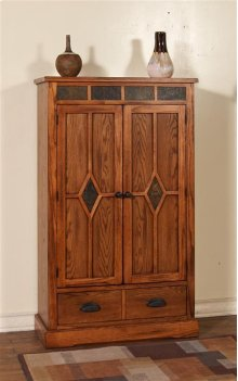 Sedona 3 Shelves Pantry W/ 2 Drawers