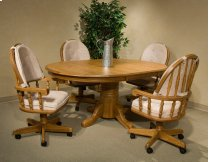Classic Oak Chestnut 48 x 70 Butterfly Leaf Table Product Image