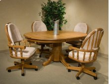 Classic Oak Chestnut 48 x 70 Butterfly Leaf Table