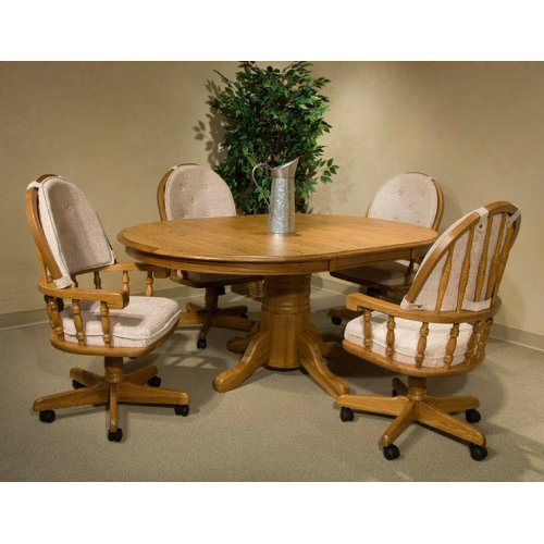 Clic Oak Chestnut Laminate 48 X 70 Table