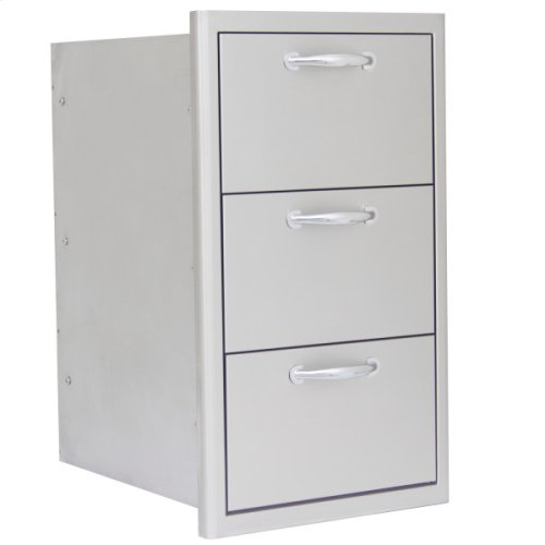 Blaze 16 Inch Triple Access Drawer
