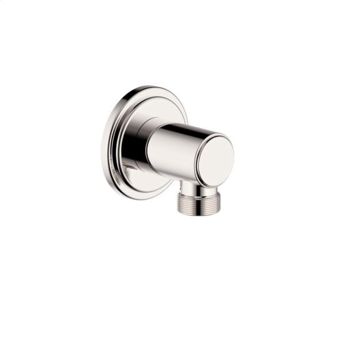 Hand Shower Wall Outlet Darby (series 15) Polished Nickel