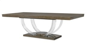Omni Dining Table With Acrylic Legs