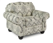 Bexley One-Tone Fabric Chair without Nailhead Trim